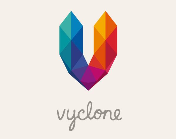 Vyclone-social-video-platform-company-business-card-inspiration