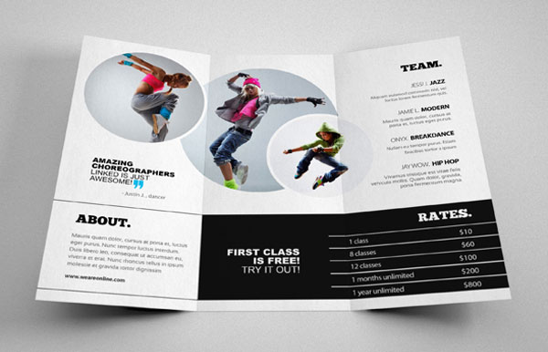 20 Simple Yet Beautiful Brochure Design Inspiration Amp Templates