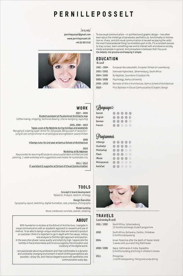 Image Result For Resume Example With