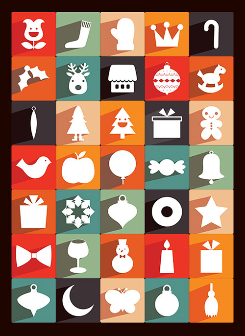 33 Best Free Christmas Icons Vectors PSD Amp Greeting