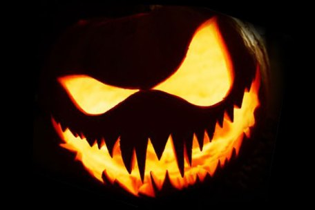 Image result for scary pumpkin