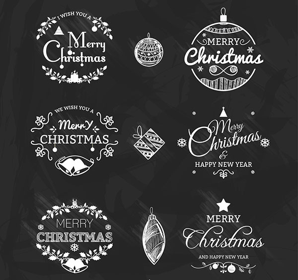 35 Free Premium Christmas Icons Vectors Cards PSD Files