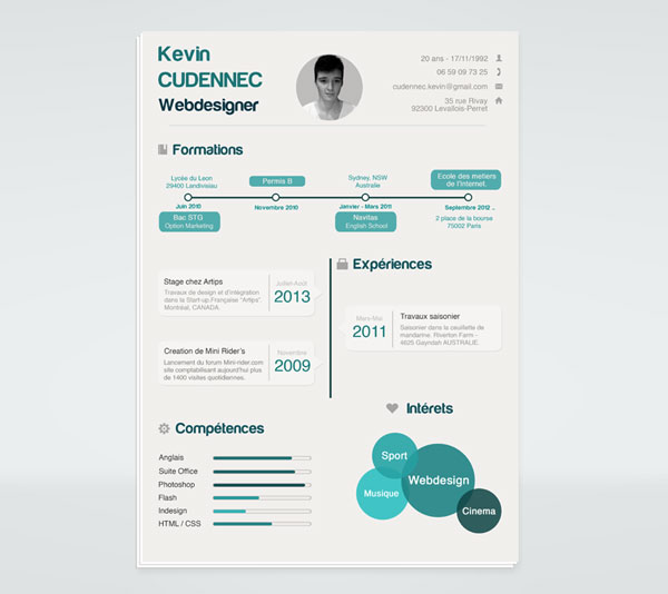 20 best free resume cv templates in ai indesign amp psd formats
