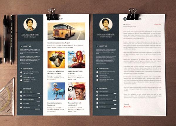 Resume Mockup Psd Free Download. free modern resume templates amp ...