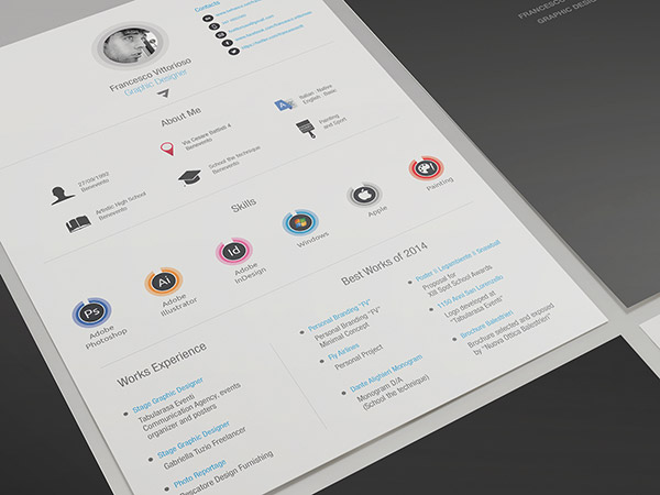 free adobe indesign resume templates 838 latest resume format