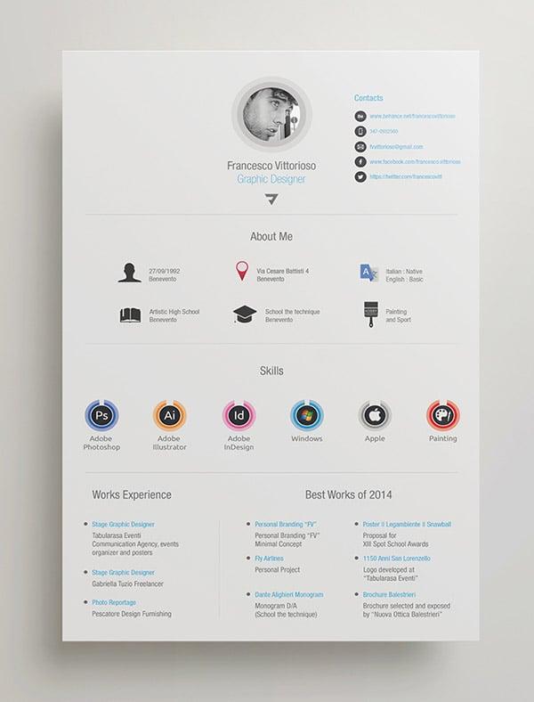 resume cv template indesign resume template modern resume template