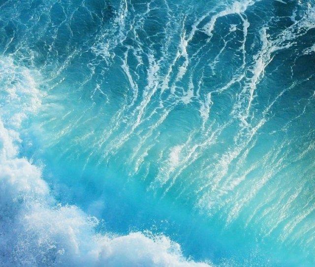 Blue Wavesiphone S Plus Wallpaper