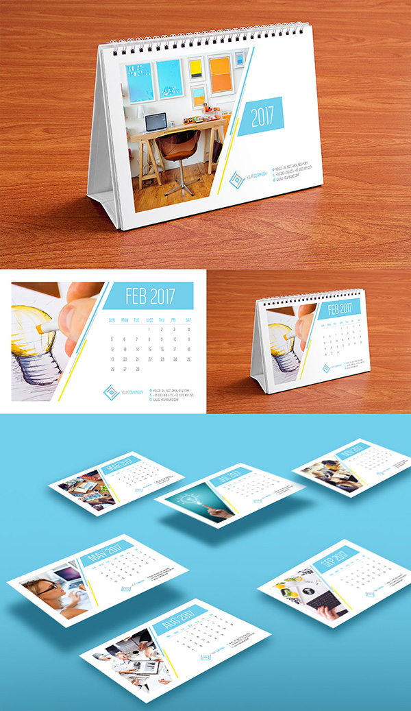 10 Best Monthly Wall Amp Desk Calendar Designs Of 2017 You Would Love To Buy