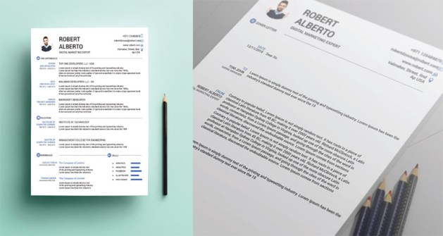 10 Fresh Free Resume   CV Design Templates 2018 in Word  PSD  Ai     FREE RESUME CV Cover Letter templates