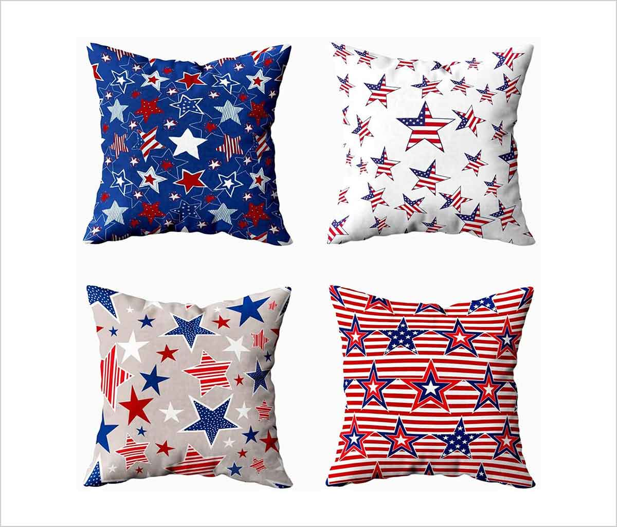25 best 4th of july pillow covers with