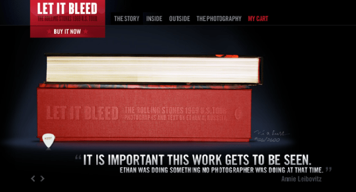 let_it_bleed 19 Black Websites for Your Inspiration