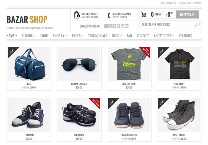 bazar 7 Top WooCommerce WordPress Themes on the Market + Why They're Best