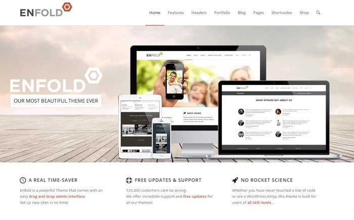 enfold 7 Top Corporate / Business WordPress Themes + What Makes Them Great