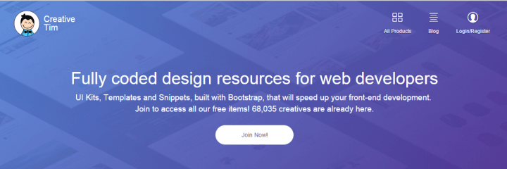 creative-tim 10 of the Best Sites to Find PSD Designs and Elements