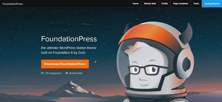foundationpress 8 Best WordPress Starter Themes And Frameworks For New WP Developers