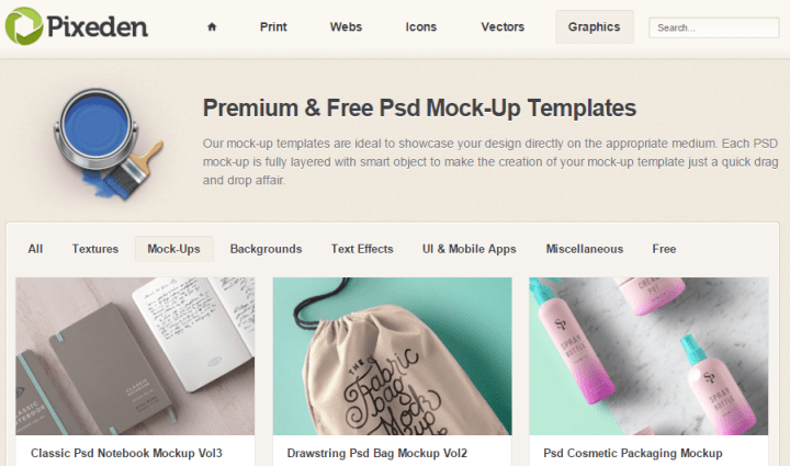 pixeden 10 of the Best Sites to Find PSD Designs and Elements