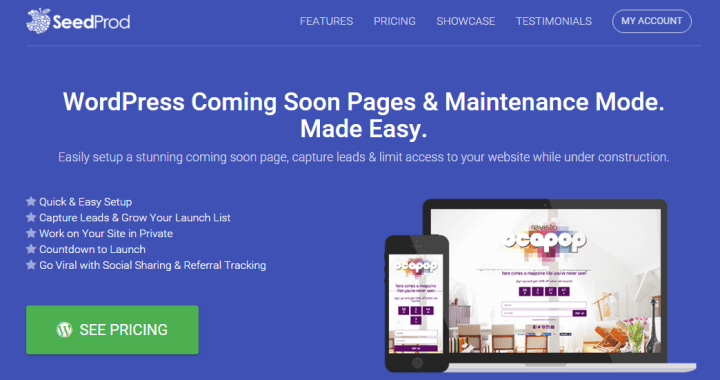 seedprod Top 9 Coming Soon Themes and Plugins for WordPress