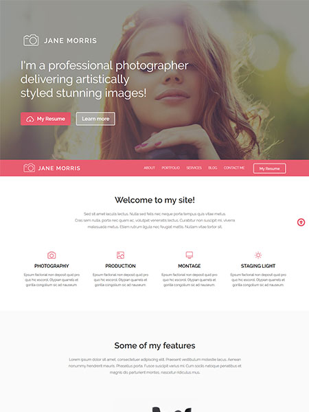 Jane-Morris 21+ Best Free Responsive WordPress Themes for 2017