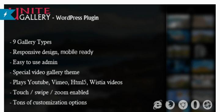 unite 8 of the Best Gallery WordPress Plugins Compared