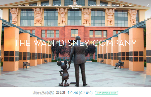 walt-disney-company 8 Big Name Brands from the Fortune 500 List That Use WordPress