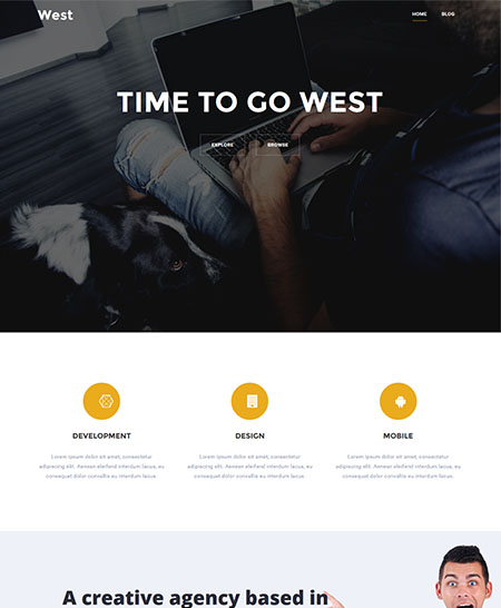 west-wordpress-theme 21+ Best Free Responsive WordPress Themes for 2017