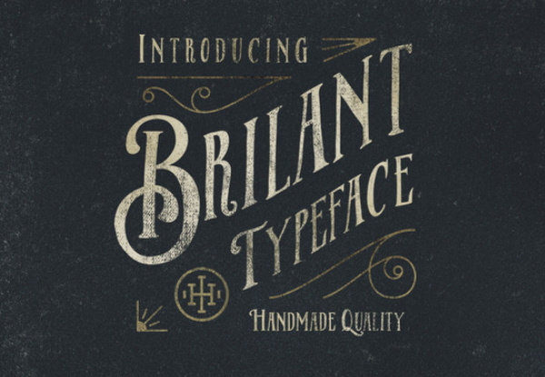 brilant-typeface 27 Free & Premium Designer Fonts