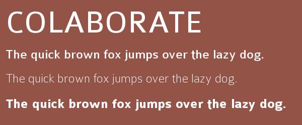 colaborate Best Fonts for Websites: 25 Free Fonts for Websites