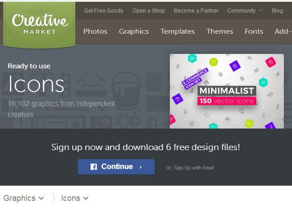creative-market-icon-files 17 Best Places to Find Free & Premium Icon Files