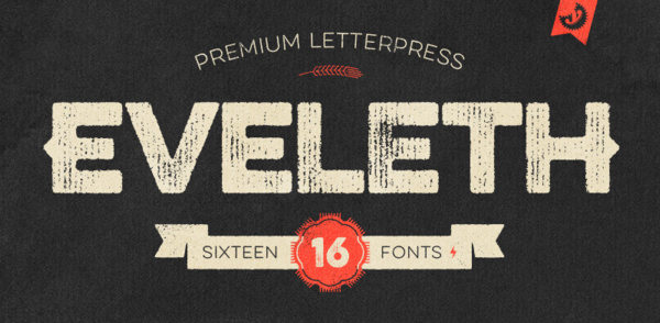 eveleth 22 Beautiful Premium Fonts for Logo Designs
