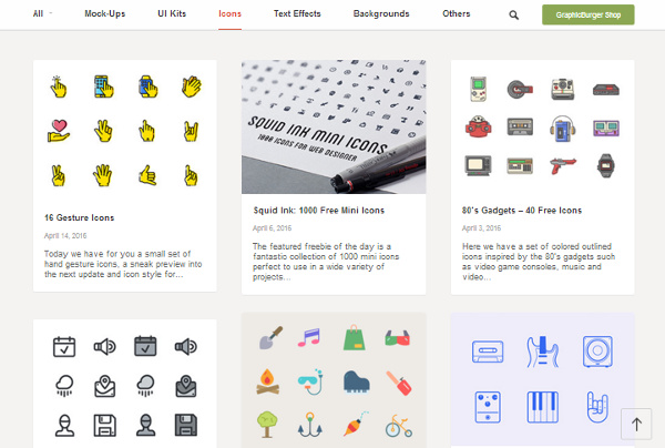 graphicburger 17 Best Places to Find Free & Premium Icon Files