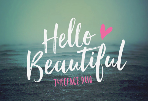 hello-beautiful 27 Free & Premium Designer Fonts
