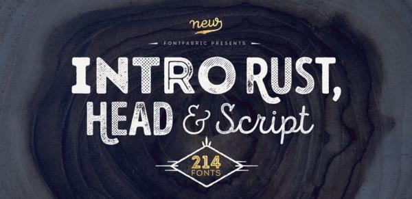 intro-rust 22 Beautiful Premium Fonts for Logo Designs