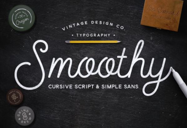 smoothy 27 Free & Premium Designer Fonts