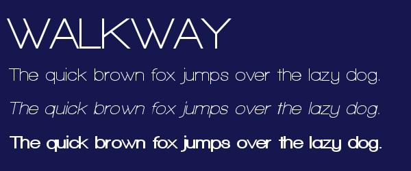 walkway Best Fonts for Websites: 25 Free Fonts for Websites