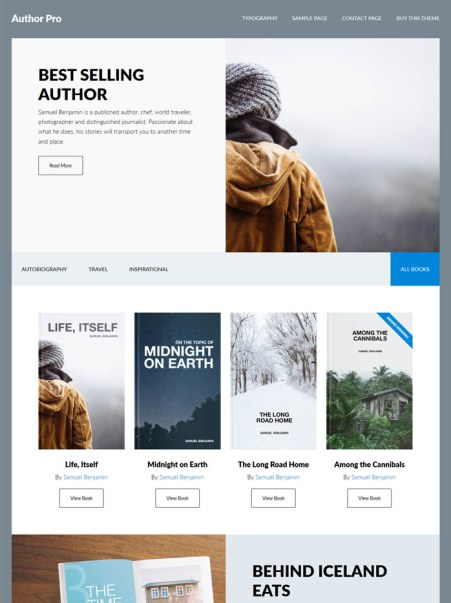 author-pro-wordpress-theme 20+ Best Personal WordPress Blog Themes For Corporate, Fashion, Travel, And Personal Blogs