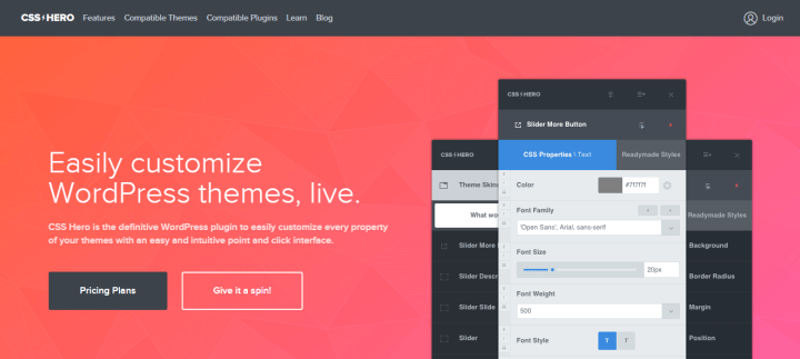 css-hero CSS Hero Review: Easily Customize WordPress Themes