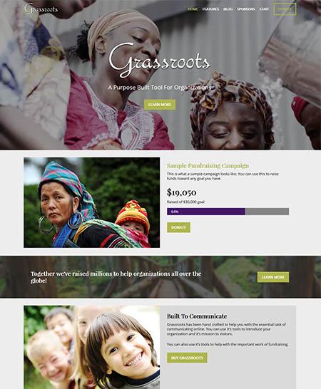 grassroots-theme 12 Best Non-Profit & Charity WordPress Themes