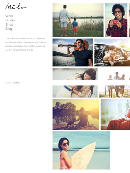 milo-theme 11+ Best WordPress Portfolio Themes to Showcase Your Work