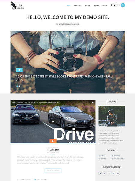myblog 20 Adventurous WordPress Travel Blog Themes for 2017