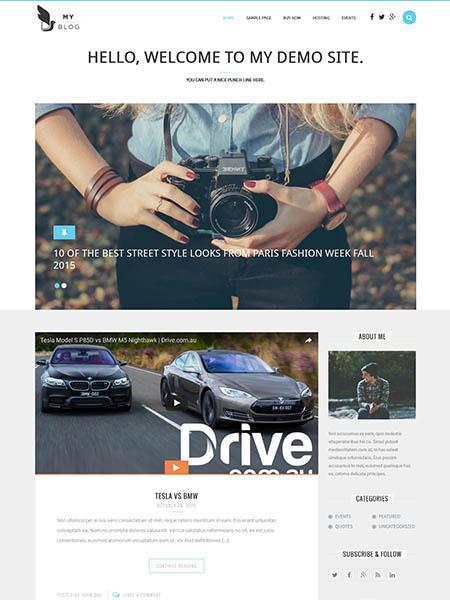 myblog 30 Newsworthy Magazine WordPress Themes for Blogs & Magazines