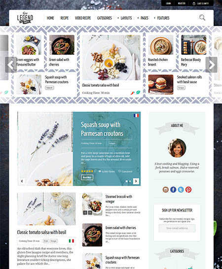neptune-wordpress-theme 13 Best Food Themes for Sharing Recipes