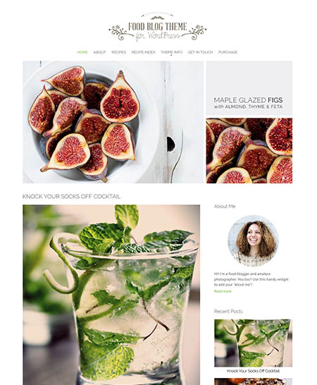 nimbus-food-blog-theme 13 Best Food Themes for Sharing Recipes
