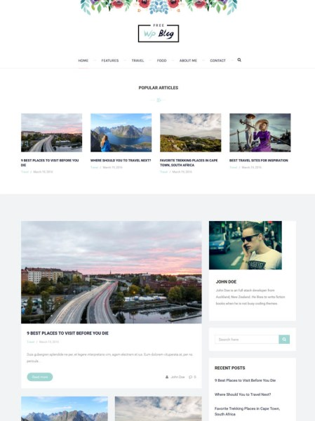 palmas 20+ Best Personal WordPress Blog Themes For Corporate, Fashion, Travel, And Personal Blogs