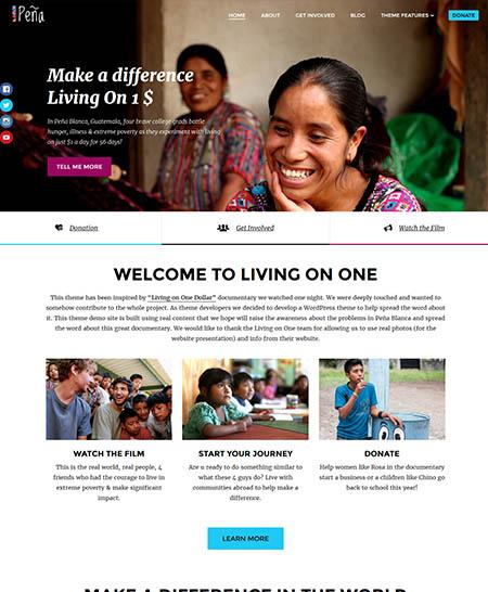 pena-wordpress-theme 12 Best Non-Profit & Charity WordPress Themes