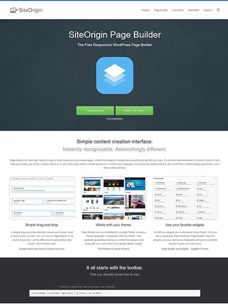 siteorigin 13 of the Best Drag and Drop Theme Builders for WordPress