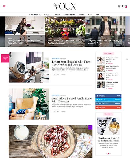 voux-wordpress-theme 16+ Best AdSense Optimized WordPress Themes