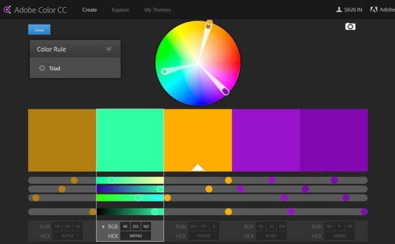 adobe-color Pair Colors Like a Pro in Your Next Project: Tips and Examples