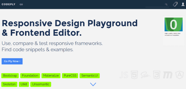 codeply 15 Useful Code Sharing Websites for Web Developers