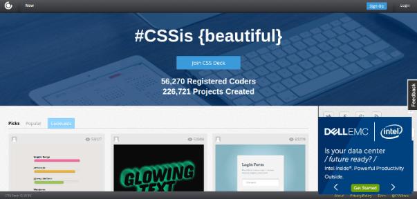 css-deck 15 Useful Code Sharing Websites for Web Developers