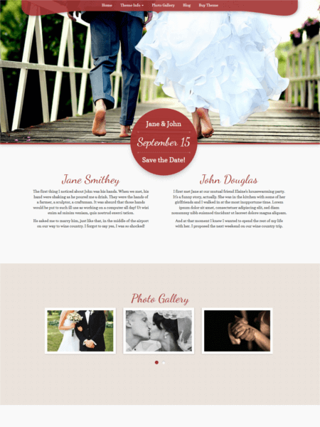 mywedding 20 Stunning WordPress Wedding Themes for 2017